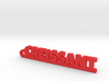 CREISSANT Keychain Lucky 3d printed