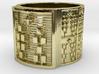 OSHEDI Ring Size 13.5 3d printed