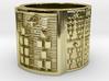 OSHEBARA Ring Size 11-13 3d printed