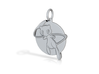 Mew pendant 3d printed