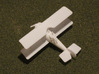 Hanriot HD.3 3d printed 1:144 Hanriot HD.3 print in WSF