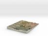Sedona Arizona Map: 8.5x11 3d printed