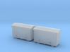 TJ-H04651x2 - Caisses à piles acier galvanisé gran 3d printed
