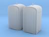 TJ-H04655x2 -  Guérites de signalisation en béton  3d printed