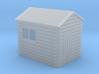 Garden shed Apex roof N gauge 3d printed