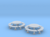 TJ-H01140x2 - Tables beton rondes 3d printed