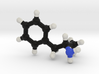 Amphetamine Molecule Model (Speed), 3 Sizes. 3d printed