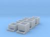 TJ-H01127x6 - Composteurs en bois 3d printed