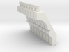 1/87 HO Scale B&M SINGLE STORY TOWER CORBELS 3d printed