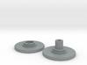 Spinner Caps - Screw Design (Pair) 3d printed