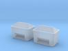 TJ-H01129x2 - Bacs à sable ou a sel 3d printed