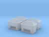 TJ-H01129x4 - Bacs à sable ou a sel 3d printed