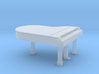 N Scale Grand Piano (Closed) 3d printed