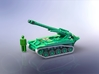 French AMX 13 F3 155mm SPG 1/200 3d printed