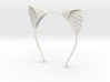 Anouk Wipprecht #ElectronicKittyEars headset 3d printed