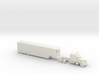 Peterbilt 379 with Auto Carrier - 1:200scale 3d printed