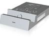 Docky-top-embossed 3d printed