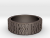 Mongo Quote Ring Size 12 3d printed