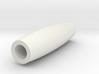 Artisan Mini Key Ring Pen Tube smooth 3d printed