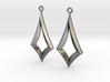 Kite Earrings 3d printed