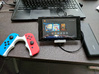 Nintendo Switch Charging Travel Stand 3d printed