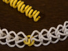 Spiral Chain Link 3d printed Chain ends connected