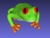 Red-Eyed Tree Frog 3d printed