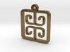 Greek Pattern Charm (001) 3d printed Greek Pattern Charm (001)