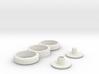 Fidget Spinner Triple Loop 3d printed