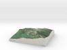 Mt. Monadnock, New Hampshire, 1:15000 3d printed