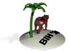 Bear Palm Final Hole Decimated 1 3d printed