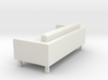 KARLSTAD Sofa - HO 87:1 Scale 3d printed