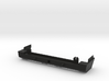 1:10 Scale Jeep Cherokee (XJ) Short Rear Bumper 3d printed