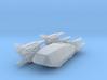 Shuttle with 4 Mk II Escorts (BSG-TRS) HiRez 3d printed