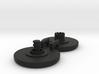 Large Standard Fidget Spinner Caps - Screw Type 3d printed