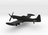 Piper PA-48 Enforcer / Cavalier X-22 Mustang 3 3d printed