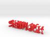 3dWordFlip: SHERLOCK/MORIARTY 14.5 x 2.5 x 2.5 cm 3d printed