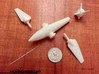 Hummingbird Spaceship Toy 3d printed Adjustable wings and rear globe rotor