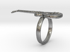 Gibson Les Paul electric guitar ring SIZE 8 3d printed