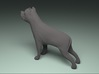 American Staffordshire figurine 3d printed