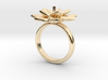 Ring Lily 3d printed