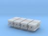 N Scale Bridge Roller Bearings #3 (8pc) 3d printed