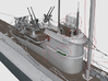 1/72 DKM U-Boot VII C41 Conning Tower Detail SET 3d printed