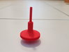 Straw Turbo Spinning Top 3d printed optional rod is not included
