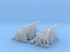 Wheelchair 01.  TT Scale (1:120) 3d printed
