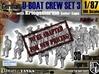 1-87 German U-Boot Crew Set3 3d printed