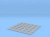 Manhole covers 01. HO Scale (1:87) 3d printed
