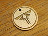 The Last of Us Firefly Pendant 3d printed Stainless Steel Print