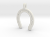 Horse Shoe pendent Small 3d printed