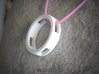 Loop ::: Circle Pendant ::: v.01 3d printed